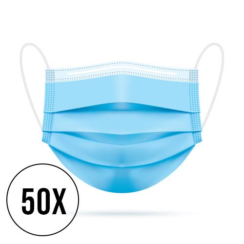 3 laags mondmasker 50 stuks niet medisch 2