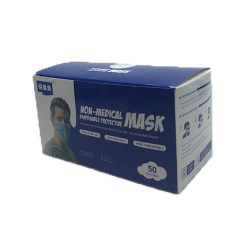 3 laags mondmasker 50 stuks niet medisch