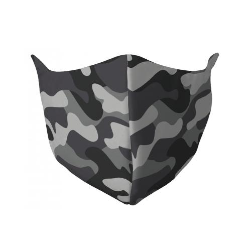 Gezichtsmasker met legerprint