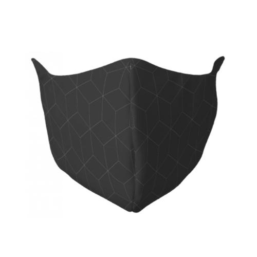 Gezichtsmasker met strepen