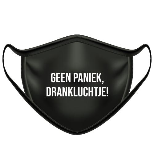 Mondkapje geen paniek drankluchtje