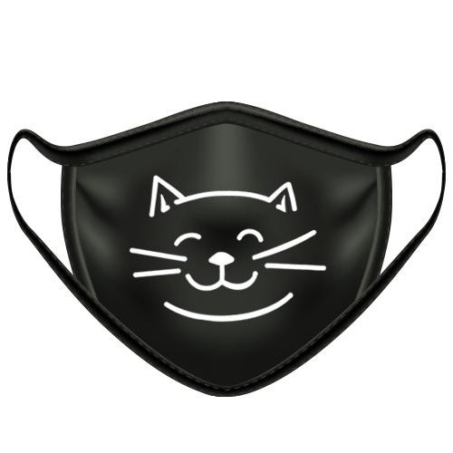 Mondkapje kat gezicht