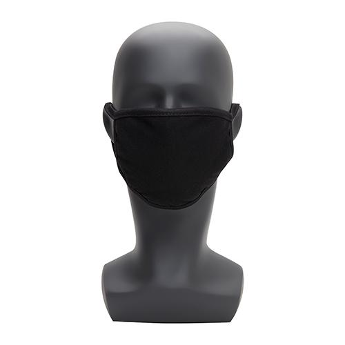 Mondkapje wasbaar zwart