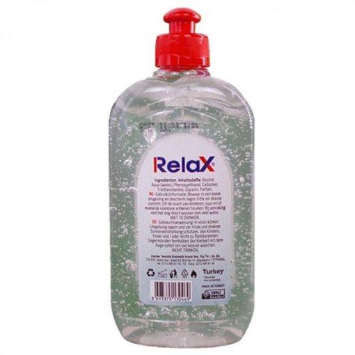 Relax hygienische handgel 500 ml