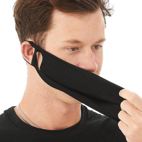Uitwasbaar mondkapje zwart