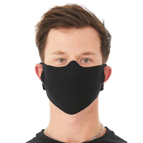 Basic uitwasbaar mondkapje zwart