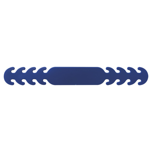 Band voor mondkapje blauw