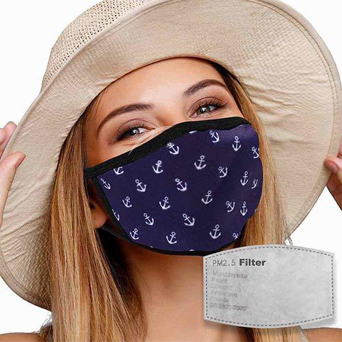 Mondkapje met filter ankers
