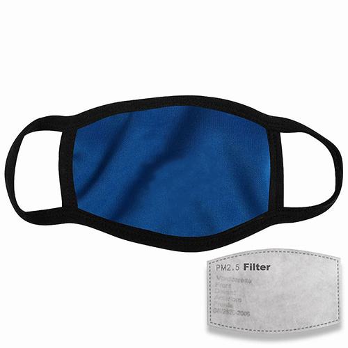 Mondkapje met filter blauw
