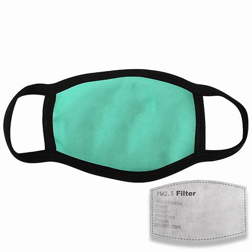 Mondkapje met filter mintgroen