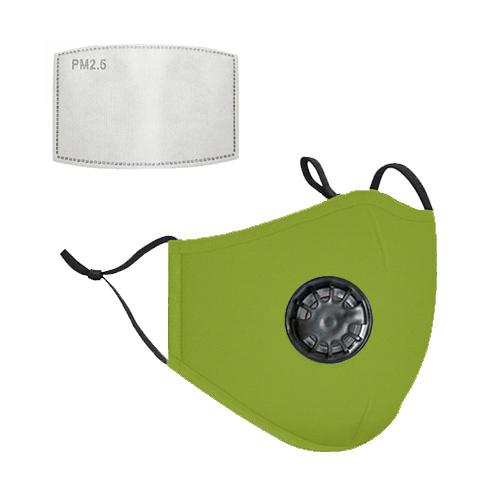 Mondkapje met filter groen