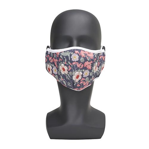 Wasbaar mondkapje met bloemenprint