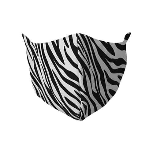 Gezichtsmasker met zebraprint